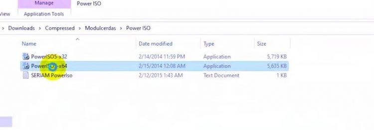 file Power ISO